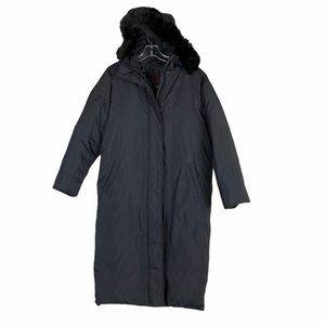 Ralph Lauren Down Quilted Black Puffer Parka Coat